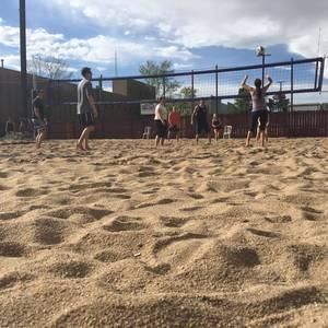 Beach Volleyball Tournament - Coed Rotating Pairs