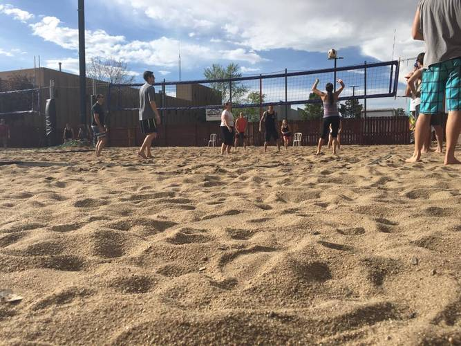 Beach Volleyball Tournament - Coed Rotating Pairs