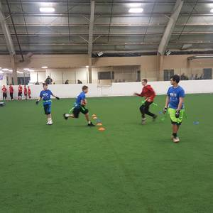 1st Indoor session 17 Youth Flag