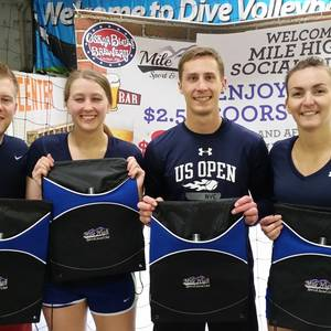 Session 6 - Denver Wednesday Int/Adv Indoor Volleyball Coed 4's