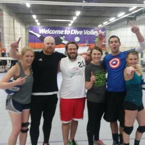 Holiday League - Denver Wednesday Interm. Indoor Volleyball Coed 6's