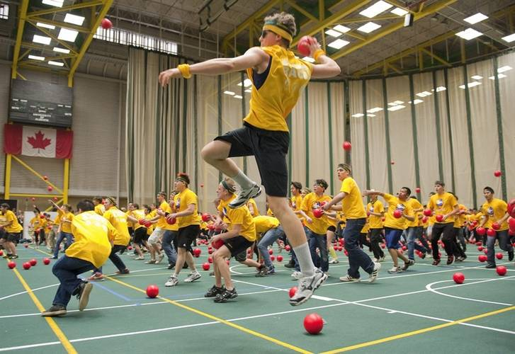 Holiday League - Denver Tuesday Recreational Indoor Coed Dodgeball 8's
