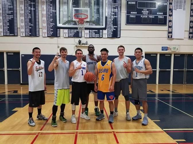 Men's Saturday Night Basketball League