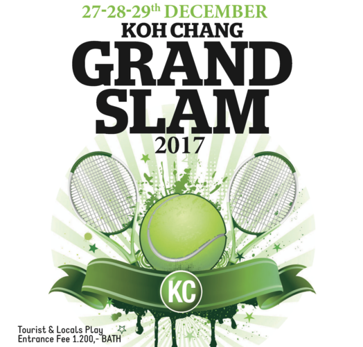 Koh Chang Grand Slam Tournament 2017