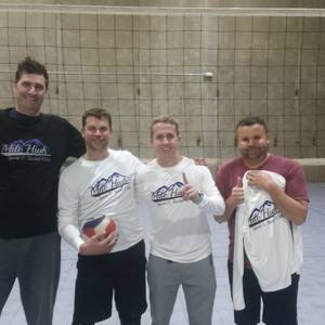 Session 2 '18 - Denver Tuesday Intermediate/Advanced Volleyball Mens 4's