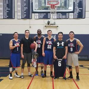 Men's Saturday Afternoon Basketball League