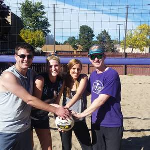 Session 3 '18 - Tuesday Sand Coed 4's Volleyball League at EP