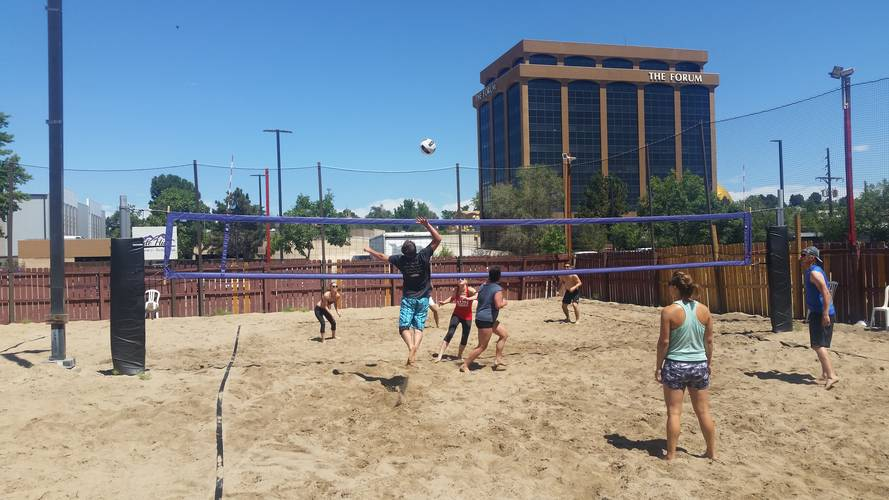 Session 3 '18 - Sunday Sand Double Header Coed 4's Volleyball League EP