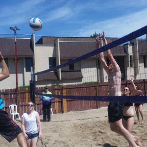 Session 3 '18 - Tuesday Sand Coed 6's Volleyball League at EP
