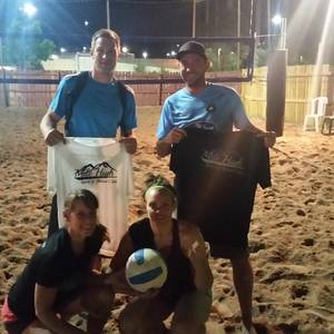 Session 3 '18 - Monday Sand Men's 4's Volleyball League at Dive
