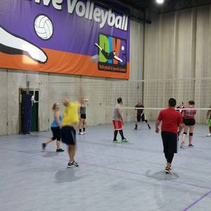 Session 3 '18 - Denver Tuesday Intermediate/Advanced Volleyball Coed 6's