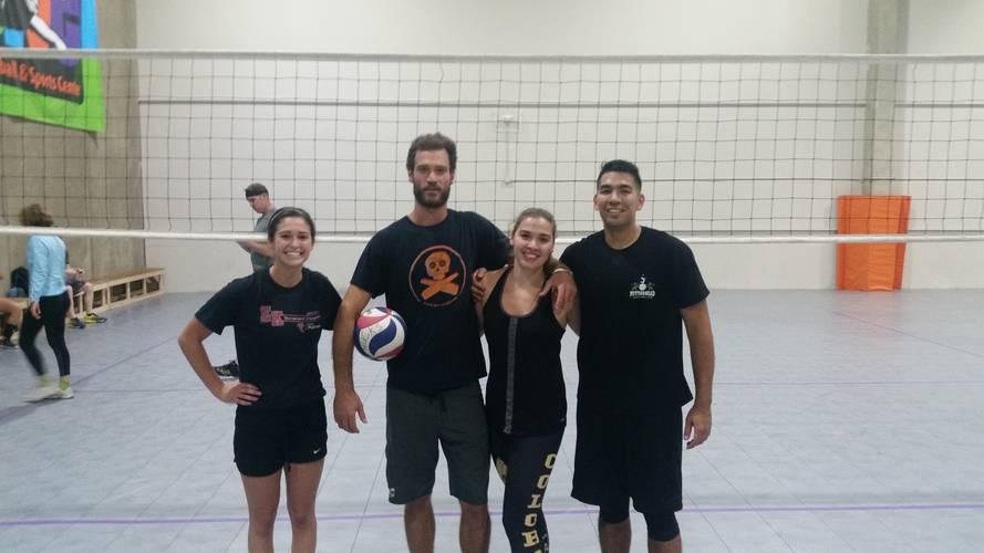 Session 3 '18 - Denver ThursdayIntermediate/Advanced Volleyball Coed 4's