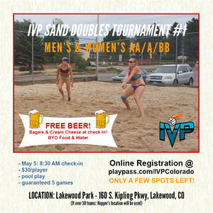 2018 IVP Sand Volleyball Tournament #1