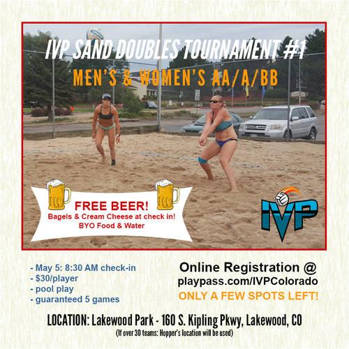 2018 IVP Sand Volleyball Tournament #1