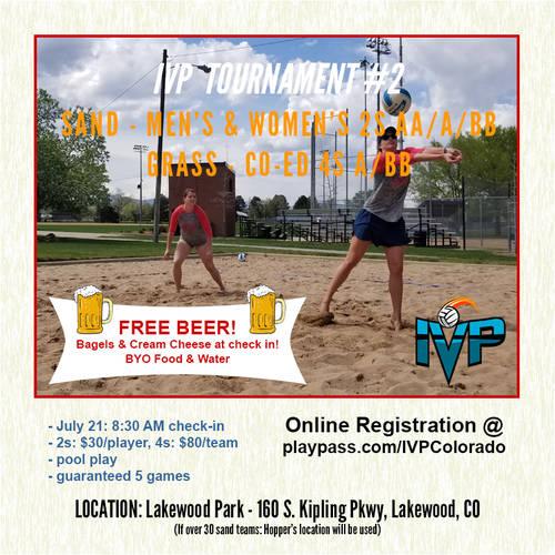 2018 IVP Sand Volleyball Tournament #2