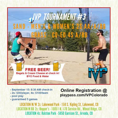 2018 IVP Volleyball Tournament #3