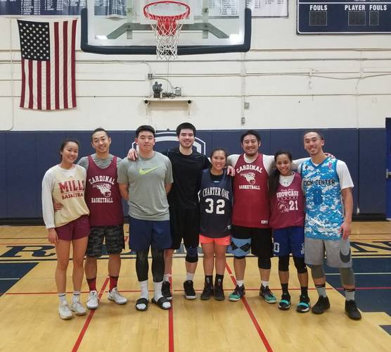 Sunday Night Coed Spring Basketball League