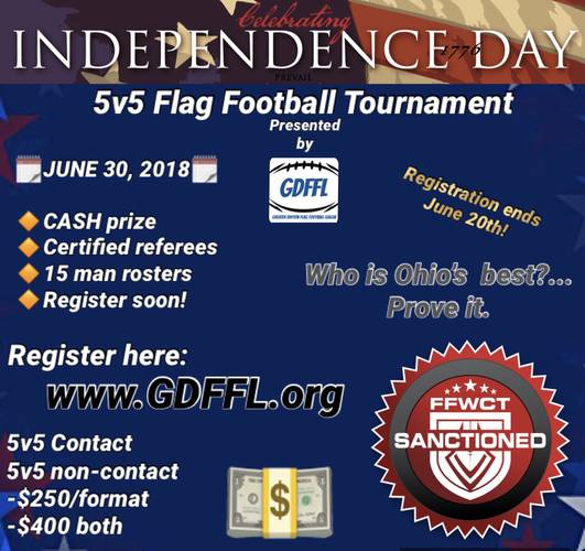 GDFFL Independence Day Tournament