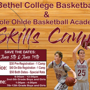 June 5th Bethel Basketball Skills Clinic