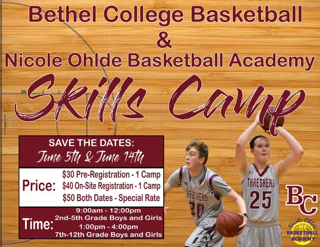 June 14th Bethel Basketball Skills Clinic