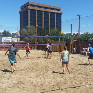 Session 4 '18 - Wednesday Sand Coed 4's Volleyball League at EP