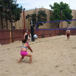 Session 4 '18 - Tuesday Sand Coed 4's Volleyball League at EP