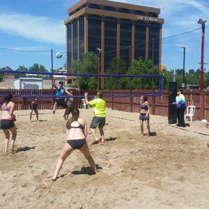 Session 4 '18 - Friday Sand Coed 6's Volleyball League at EP