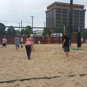 Session 4 '18 - Tuesday Sand Coed 6's Volleyball League at EP