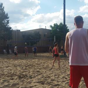 Session 4'18 - Wednesday 2's Adv Sand Volleyball League at Dive