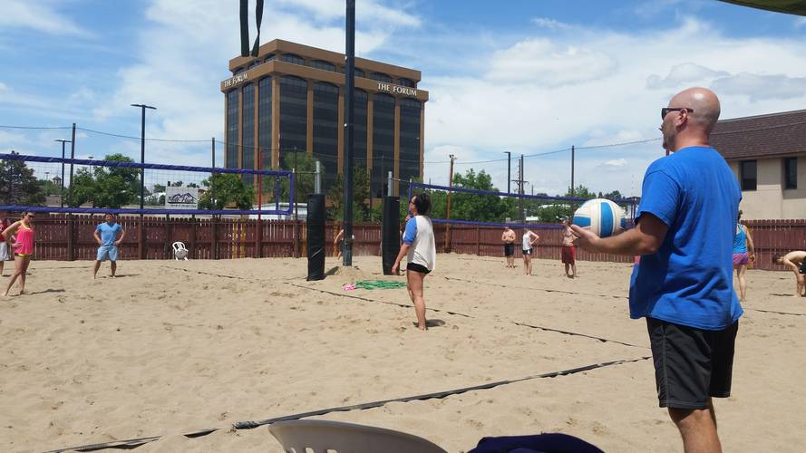 Session 4 '18 - Sunday Sand Coed 6's Volleyball League at Dive