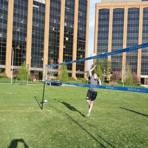 Session 4 '18 - Tuesday 2's Adv Double Header Grass Volleyball League