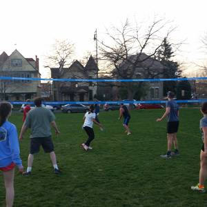 Session 4 '18 - Monday Coed 4's / Coed 6's Grass Volleyball at Stapleton