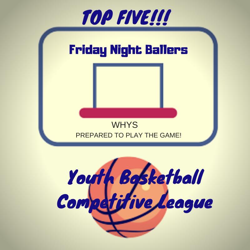 6th Grade League Top 5 Stats