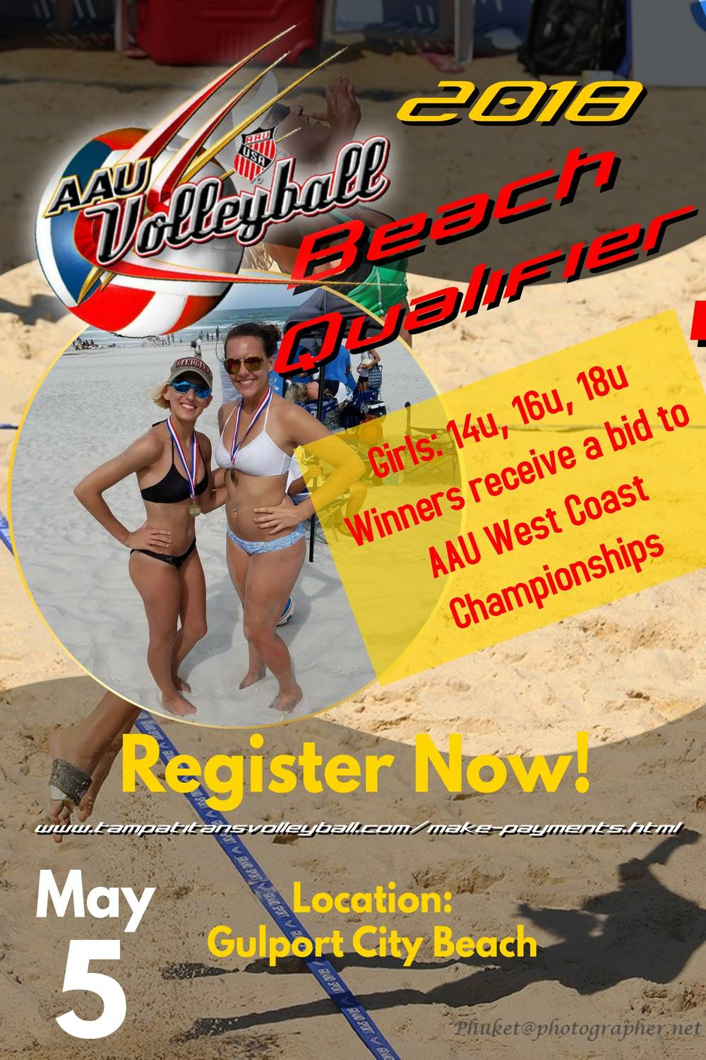 AAU Beach Clash of the Titans