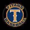Thumb titans baseball logo