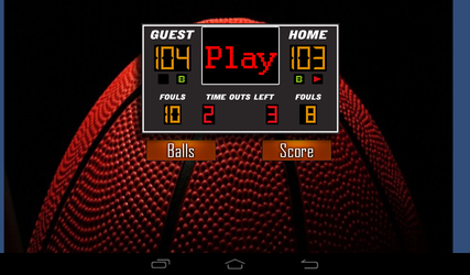 Online Basketball Competition
