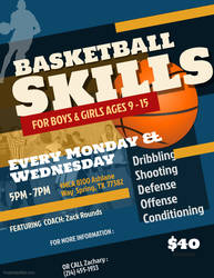 Round1 Basketball Skills Training