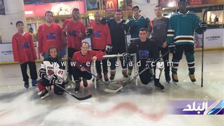 Ramadan ice hockey tournament 2016