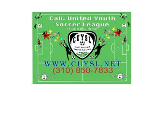 Cali. United Youth Soccer League