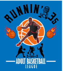 Runnin 3's Adult Basketball League