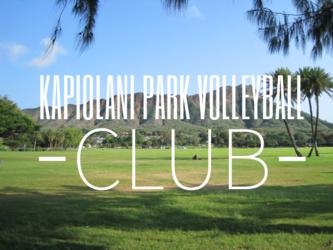 Kapiolani Park Volleyball Club