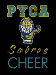 PYCA Sabres Cheer