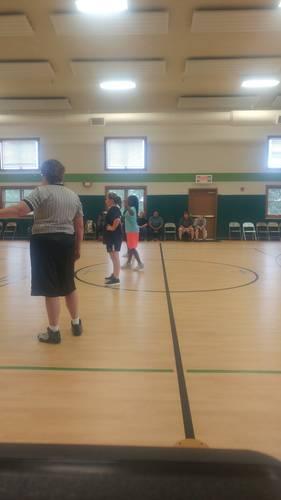Playoffs for Girls Basketball League