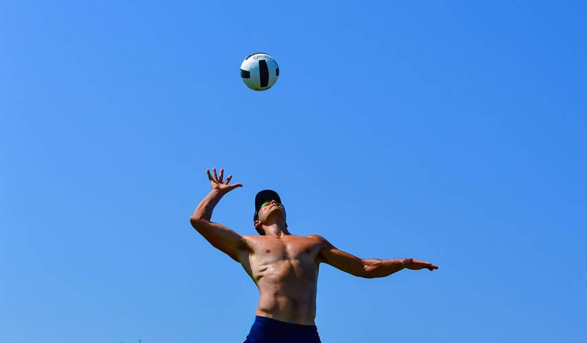 The Compound TXK 2x2 Men's Open Grass Volleyball Tournament