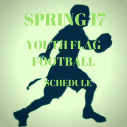 Spring 17 Youth Football Schedule