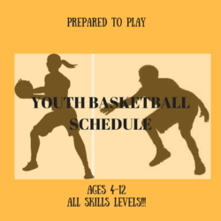 Spring 17 Youth Basketball Schedule