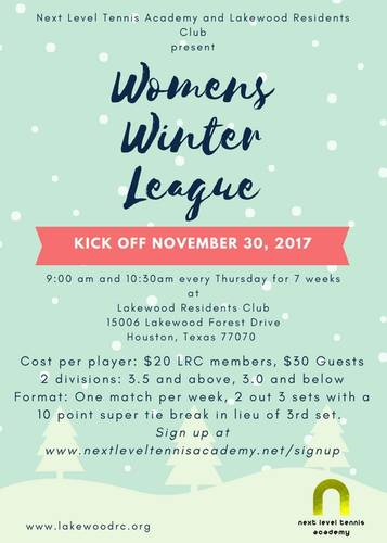 NLTA/LRC Womens Winter League