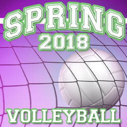 8U Volleyball | Roney Center | Spring 2018
