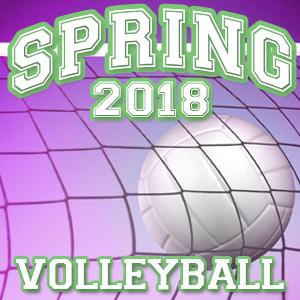 8U Volleyball | Roney Center | Spring 2018
