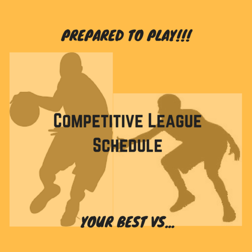 Competitive League Schedule